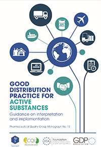 Cover of the Good Distribution Practice for Active Substances Guidance